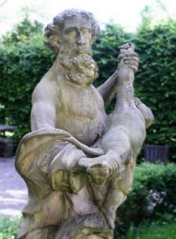 A representation of Saturn (Cronus) in Nuremberg