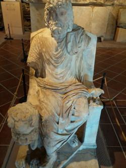 A representation of Hades (Pluto) in Hierapolis