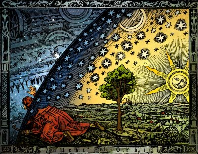 Fixed Stars, illustration from Camille Flammarion (1888)