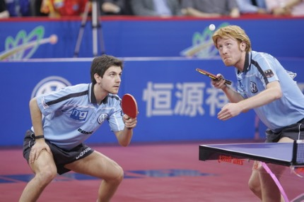 Table tennis, a Gemini sport