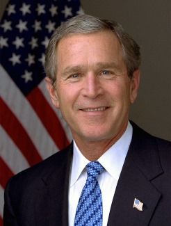 George W. Bush, a Cancer man with Leo dominant