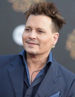 Johnny Depp, a famous Gemini man