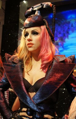 Lady Gaga, a famous Aries woman