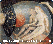 Horary astrology: consult the Horary Oracle about your romantic life.