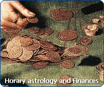 Horary astrology: consult the Horary Oracle about your finances.
