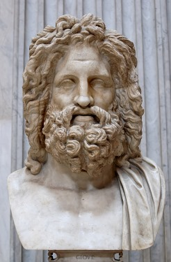 Another representation of Jupiter, the Zeus of Otricoli, Vatican Museums